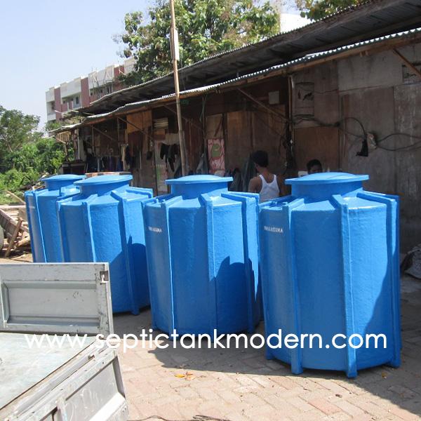 tangki tanam pendam ground tank water air timbun tanah biotech biofil Tangki Tanam
