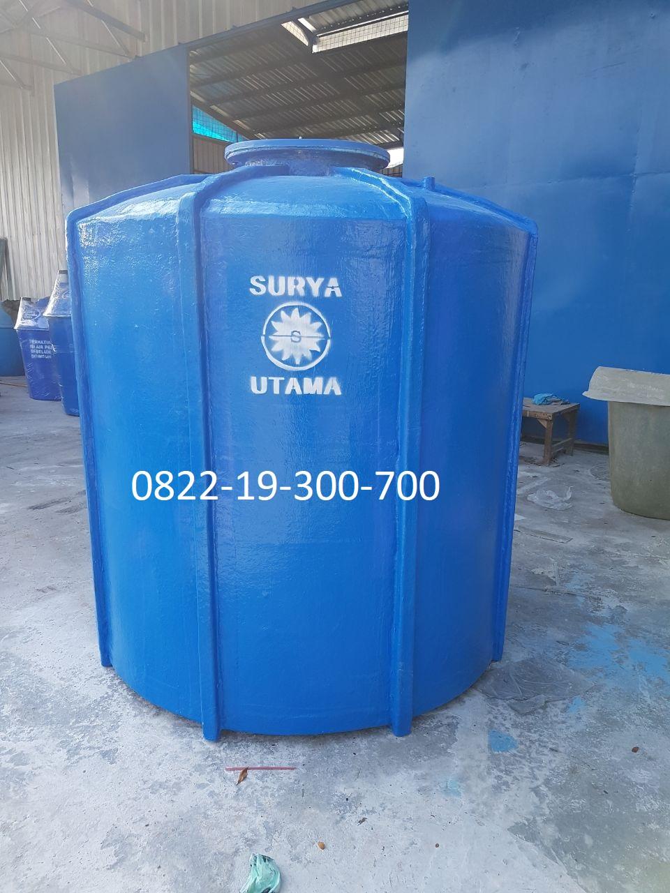 Tangki tanam pendam ground tank water fiber frp glass fibre asahi kotak silinder Tangki Tanam
