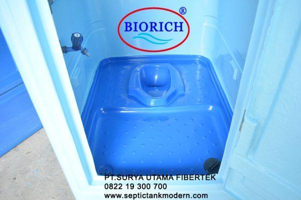toilet portable murah meriah pabrik distributor closet jongkok fiber fibre glass frp wc portabel agen 600x400 Toilet Portable BioRich Tipe Premium B