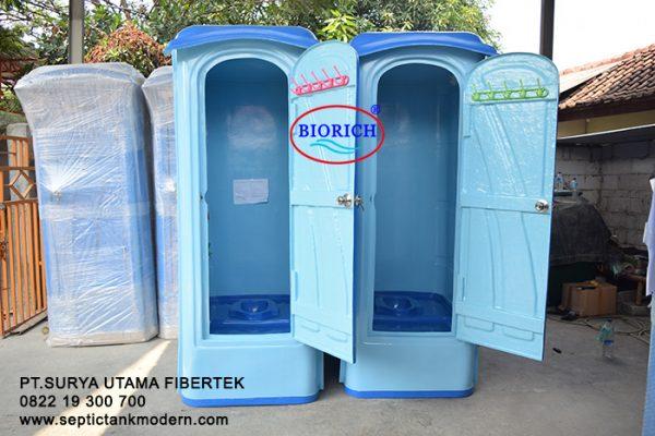 toilet portable tipe b standart wc portable produsen murah pabrik agen proyek jual murah terbaik fiber 600x400 Toilet Portable BioRich Tipe Premium B