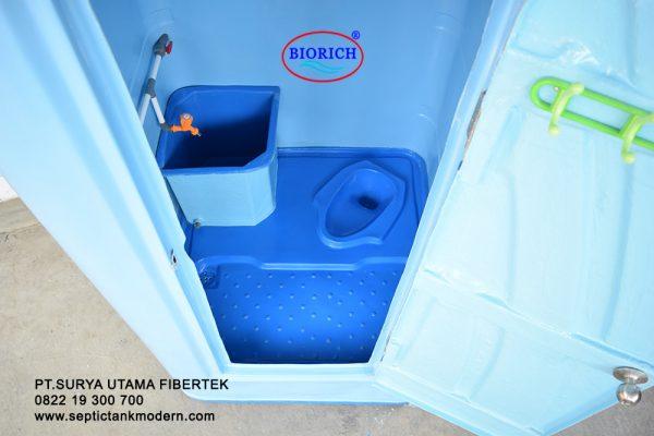 toilet portable wc flexible proyek harga murah wc duduk jongkok plastic hdpe 600x400 Toilet Portable BioRich Tipe Premium A